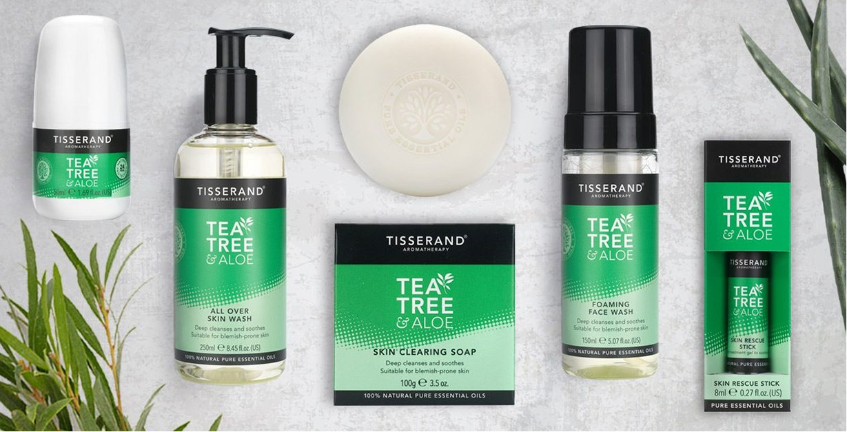 Introducing the new Tea Tree & Aloe Collection